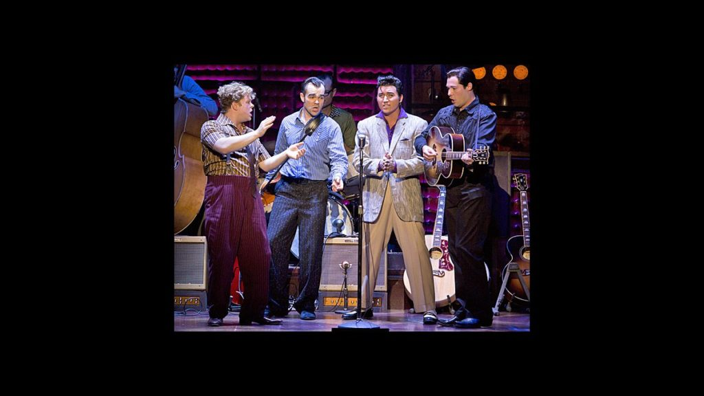 PS - Million Dollar Quartet - tour - John Countryman - James Barry - Tyler Hunter - Scott Moreau - wide - 10/13