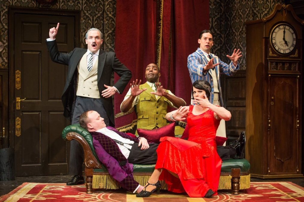 National Tour Show Photos - The Play That Goes Wrong - 1/18 - Photo: Jeremy Daniels