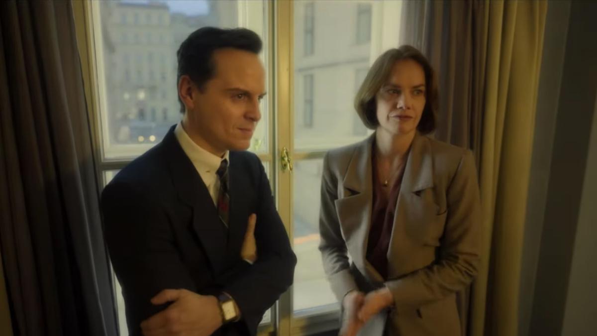 Oslo Movie - Andrew Scott - Ruth Wilson - 4/21 - HBO
