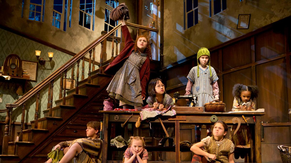 Annie - Show Photos - Broadway 2012 - Joan Marcus