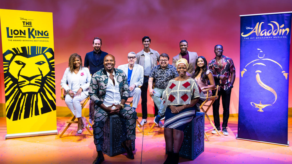 Disney on Broadway reopening press event  - 8/21 - photo by Rebecca J Michelson