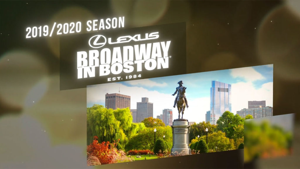 Lexus Broadway In Boston 2019/2020 Video